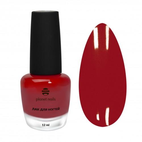 Planet Nails Лак для ногтей с эффектом гелевого покрытия - 868, 12 мл.