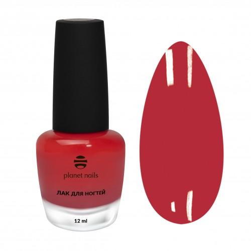 Planet Nails Лак для ногтей с эффектом гелевого покрытия - 870, 12 мл.
