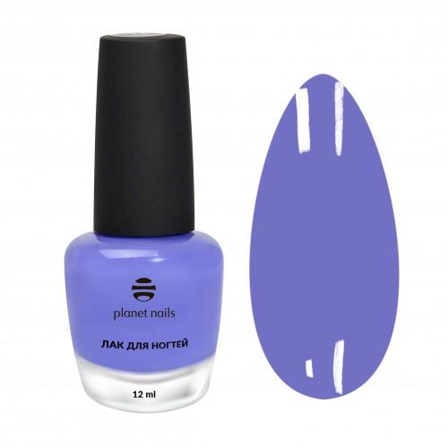 Planet Nails Лак для ногтей с эффектом гелевого покрытия - 873, 12 мл.