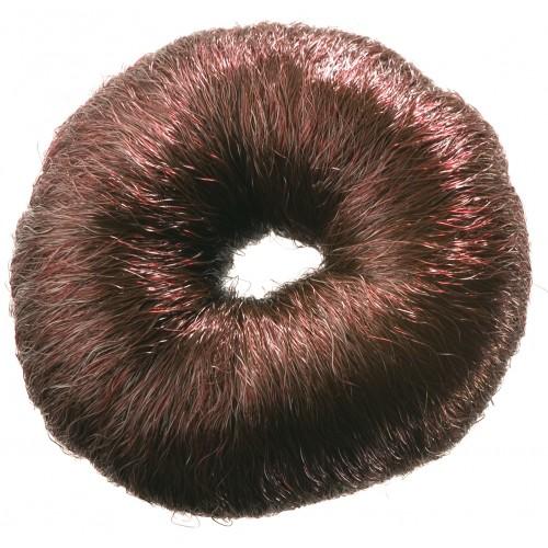 """Валик """"PROFI line"""" (для причесок, круглый, коричневый, из искусственного волоса)"""