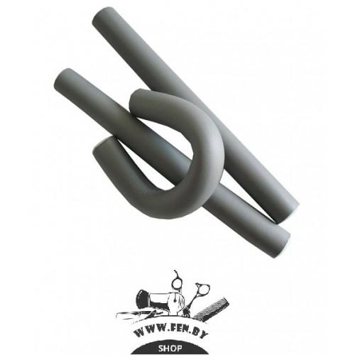 Бигуди-бумеранги PROFI line R-FXR- 1 d18мм.*240мм серые 12шт