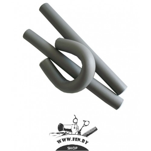 Бигуди-бумеранги PROFI line R-FXR- 7 d18мм.*180мм серые 12шт