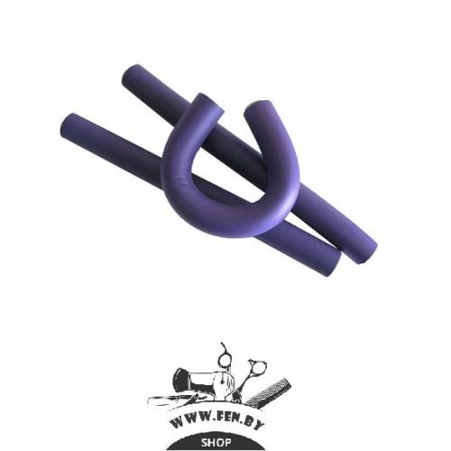 Бигуди-бумеранги PROFI line R-FXR-19 d20мм.*240мм., фиолетовые,