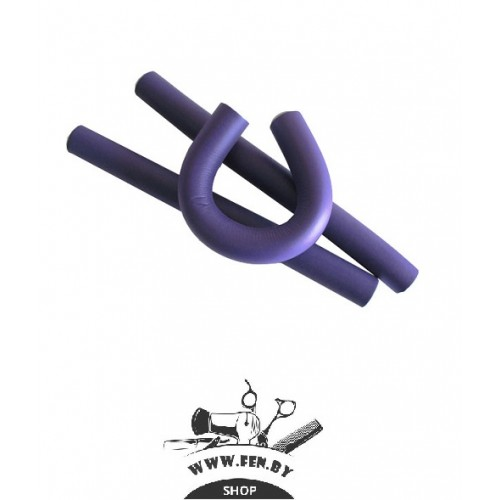 Бигуди-бумеранги PROFI line R-FXR-20 d20мм.*180мм фиолетовые 12ш