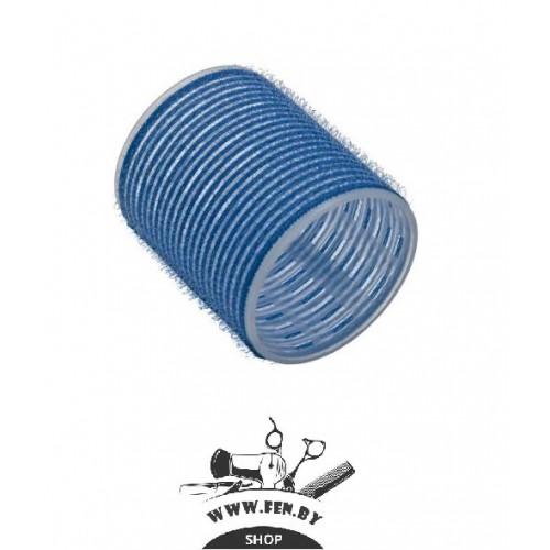 Бигуди-липучки PROFI line R-VTR-15, голубые, d55мм., 6шт.