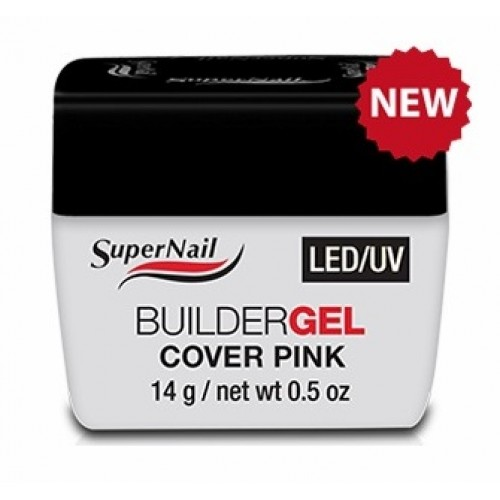 Гель для наращивания Super Nail LED UV BuilderGEL Cover Pink 14мл