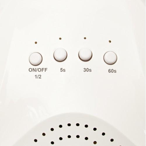 "Лампа для сушки ногтей  Planet Nails  UV/LED 24/48W ""Sunlight"" белая"