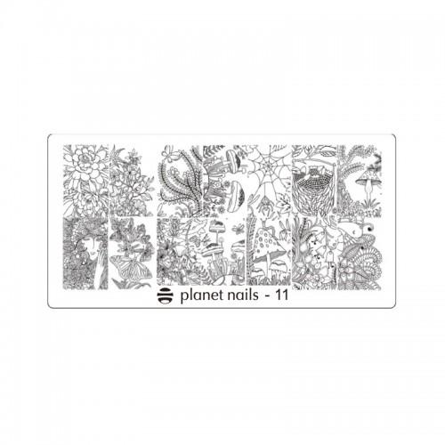 Пластина для Stamping Nail Art №11