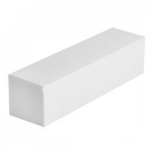 Баф для ногтей , 100/100, 4-х сторонний белый
