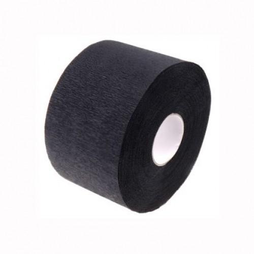 Воротнички парикмахерские бумажные в рулончиках  Черные 100 шт.